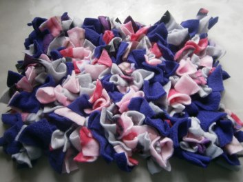 Purple/pink/grey